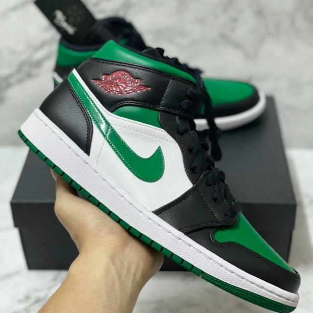 air jordan 1 mid verdes