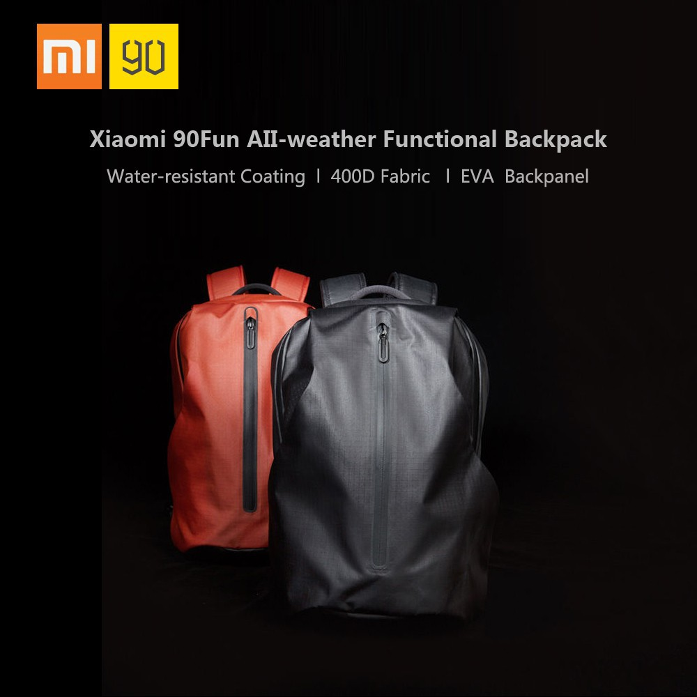 c60f35e83969 Xiaomi 90 Fun All-weather Function City Backpack Unisex Waterproof Notebook