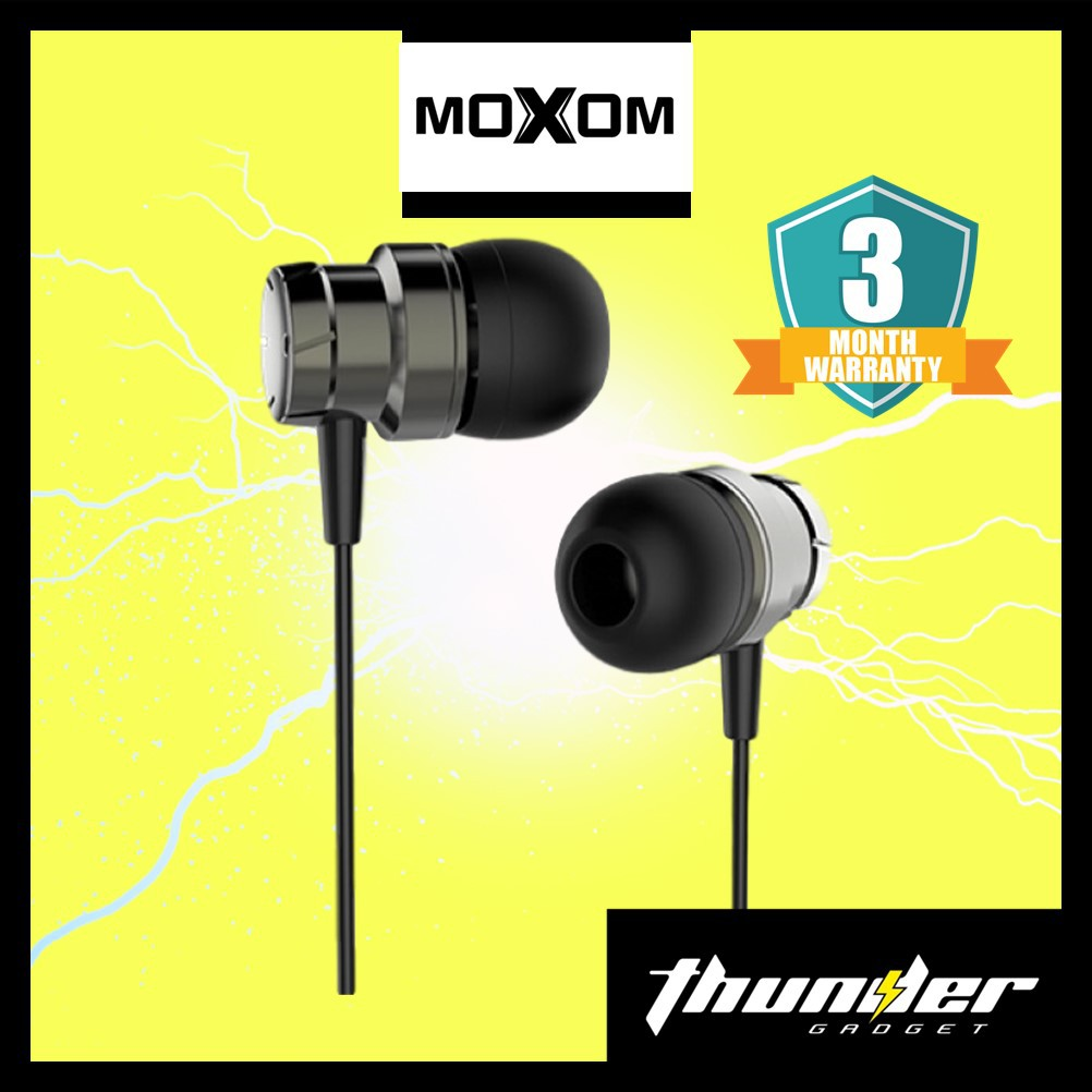 Moxom MX-EP08 High Quality Magnetic Attraction HI FI Sound Earphone