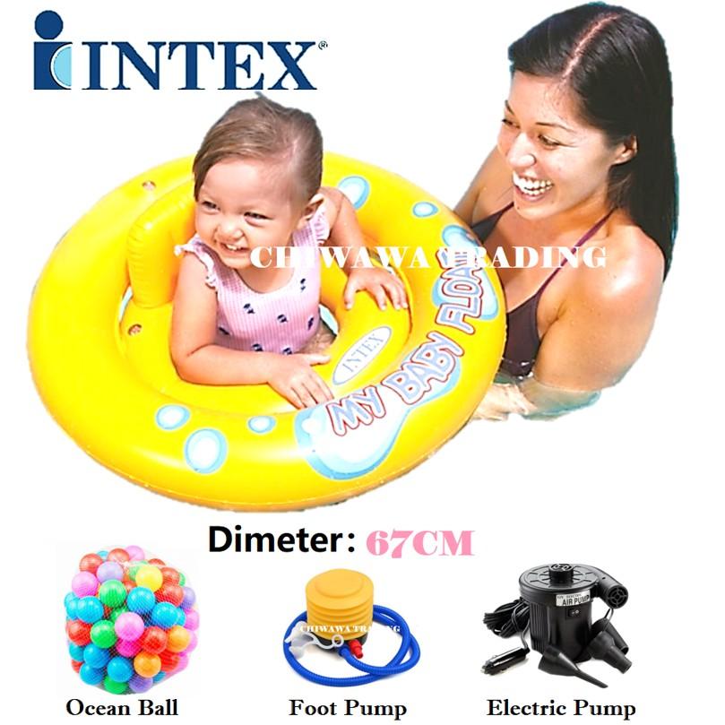 PROMOTION 59574 Inflatable Raft Lifebuoy Lifesaving Ring Swimming Ring Pool Aid Float Ring KOLAM