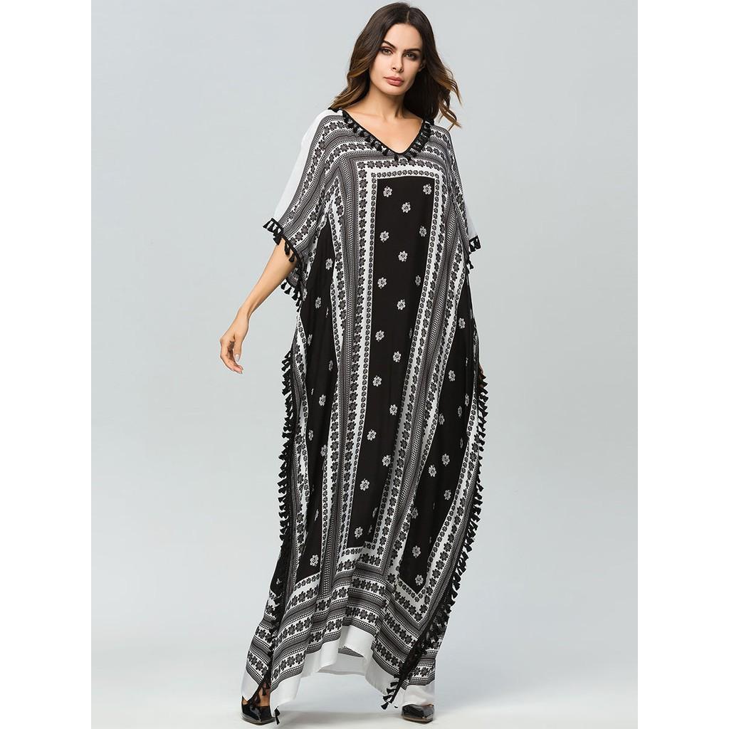 New Design Bat Sleeves Women Muslim Dress Abayas Malaysia Kebaya Muslimah Jubah