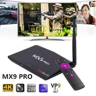 MX9 PRO 4GB 32GB Android8 1 RK3328 Quad-Core 4K*2K USB3 0