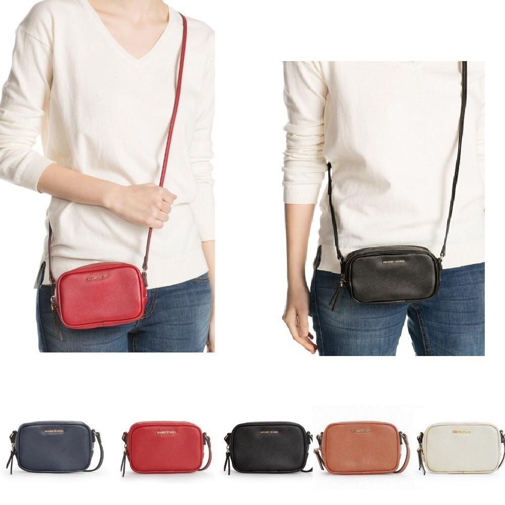 d36ab1c966 EXCELLENT QUALITY Mango Double Zipper Sling Bag