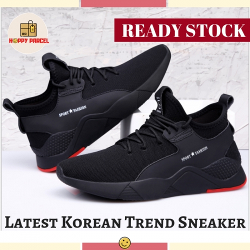 [VIDEO INSIDE] BREATHABLE Casual Shoes Men's RUNNING Shoes Sport Korean Sneakers