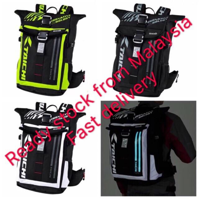 e9f143f280 RS TAICHI RSB274 Motor Racing Backpack Outdoor Bag Laptop Backpack  Waterproof
