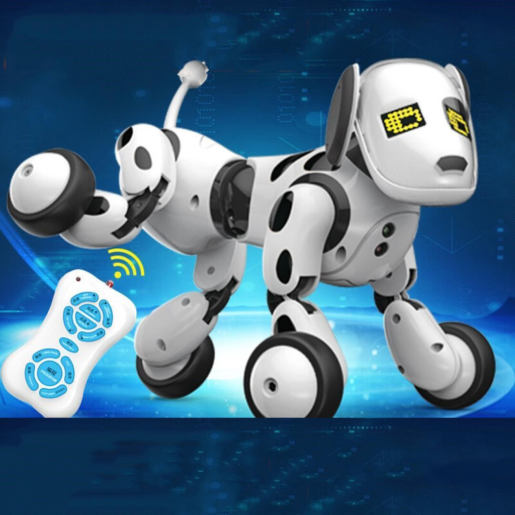 dial AM102475 Intelligent remote control robot dog charging moving dance  music