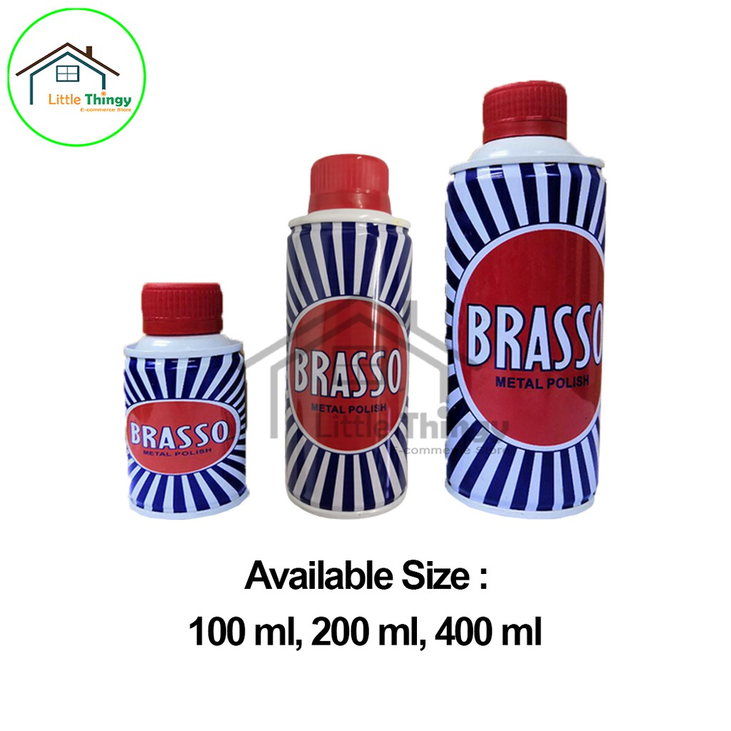 400ml 200ml 100ml Brasso Copper Metal Polish Clean Stainless Steel Cookware Lock Industry Items Littlethingy Shopee Malaysia