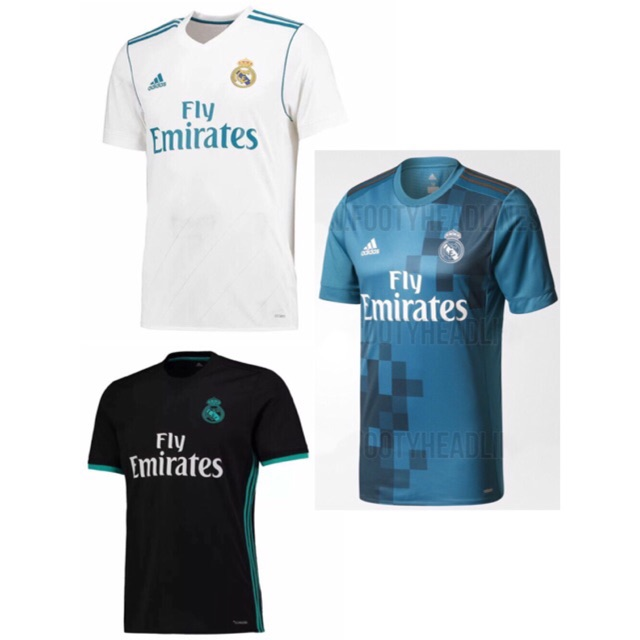 watch 8d6c5 e4d21 17/18 Real Madrid kits