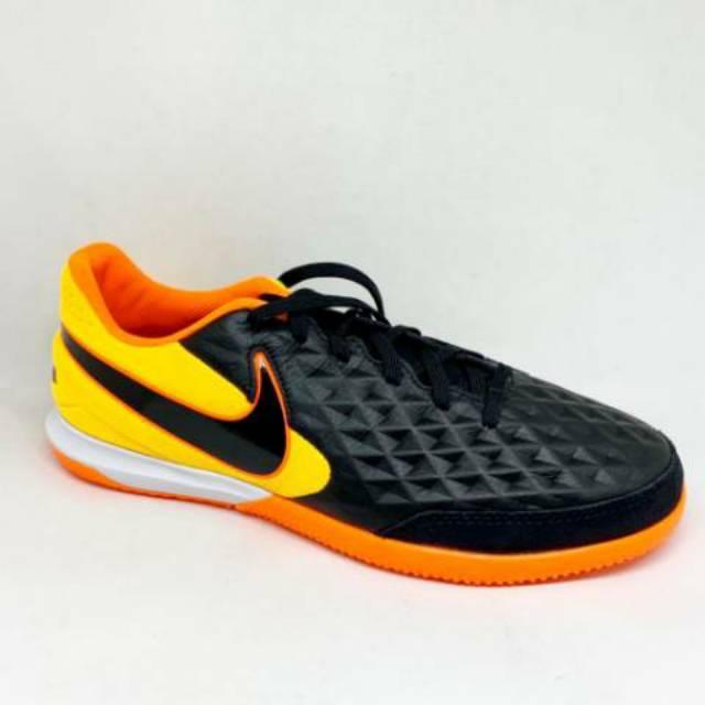 Pertenece saltar Certificado  Kicosport Sepatu Futsal Nike Tiempo Legend 8 Academy IC Black Orange  Original New 2020 | Shopee Malaysia