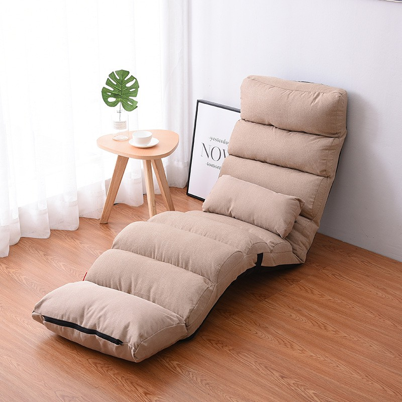 QUKAU Lazy Sofa L205*W56*H18CM Tatami Small Sofa Chair Single Folding Bed  Backrest Chair Floating Window Chair Lazy Sofa