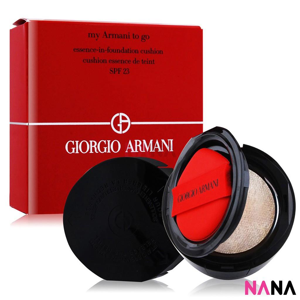 Giorgio Armani My Armani To Go Essence In Foundation Cushion Spf23 4 15g