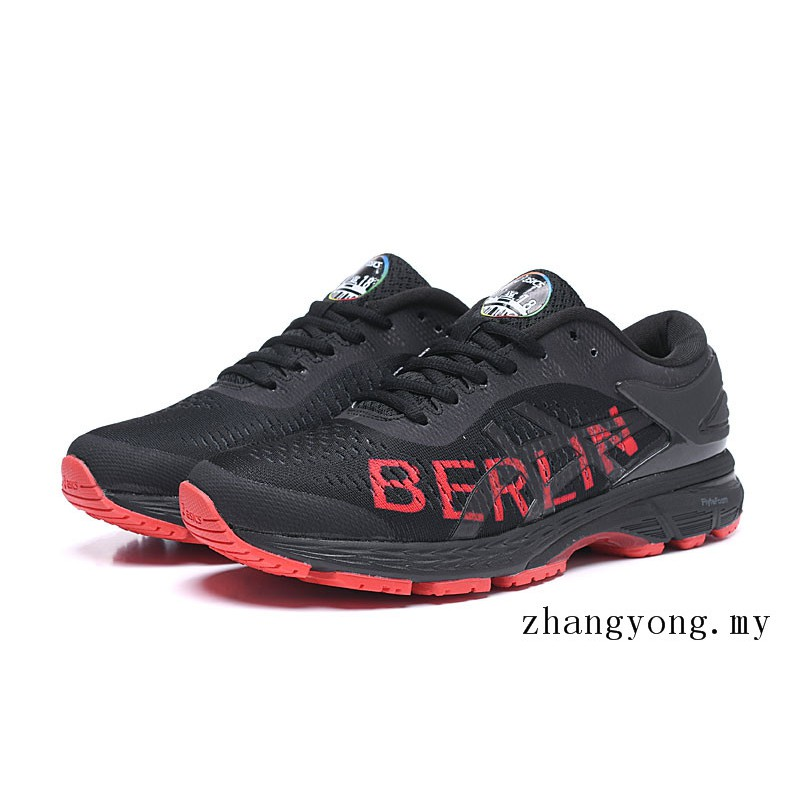 wholesale dealer 79f9e 857df Ready Stock Asics Gel Kayano 25 Berlin 2018 Marathon Shoes Men Jogging  Walking