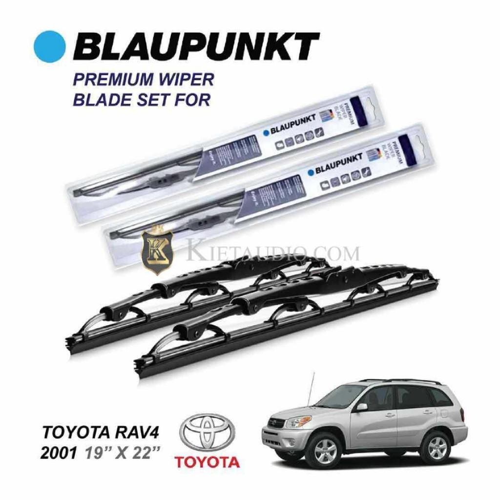 Blaupunkt Premium Wiper Blade Set For Toyota Rav4 2001 19 22 Lights Shopee Malaysia