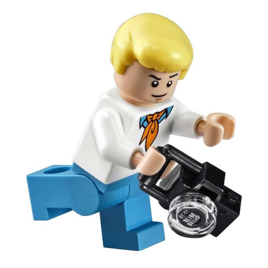 Scooby Doo Mystery Machine Bus Building Block DIY Blocks Toys 10430 Lego Kids