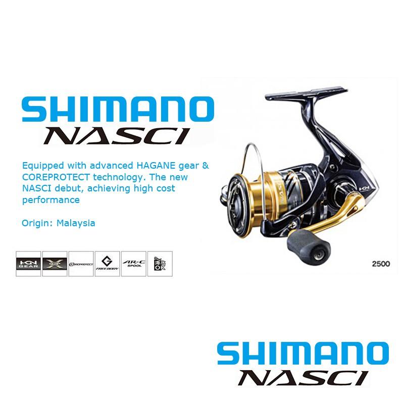 SHIMANO NASCI Fishing Reel Fishing Boat Wheel Fish | Shopee