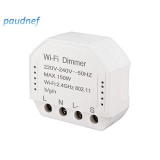 Wifi Smart Dimmer Switch For Tuya Amazon Alexa Google Home Ifttt