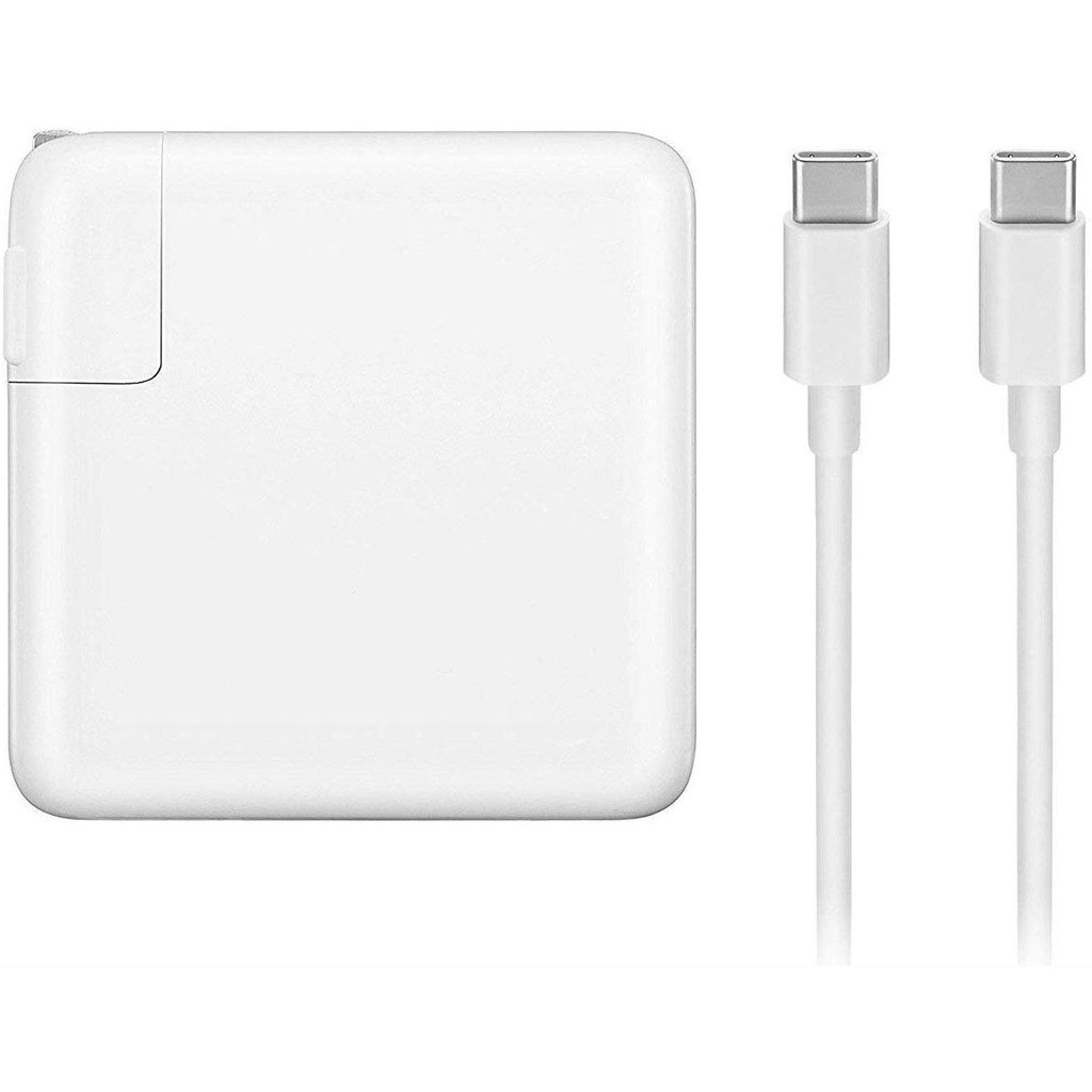 Mac Book Pro Charger 61W USB Type C Power Adapter For MacBook Pro 13 Inch  MacBook Air Included USB-C Charge Cable   Shopee Malaysia