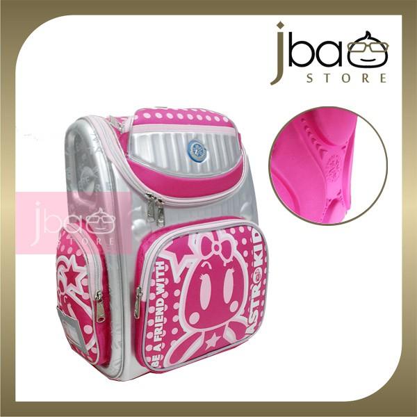 Astrokid Kid Hard Case School Bag Astrokids Primary Backpack AKR-801602-PN Pink