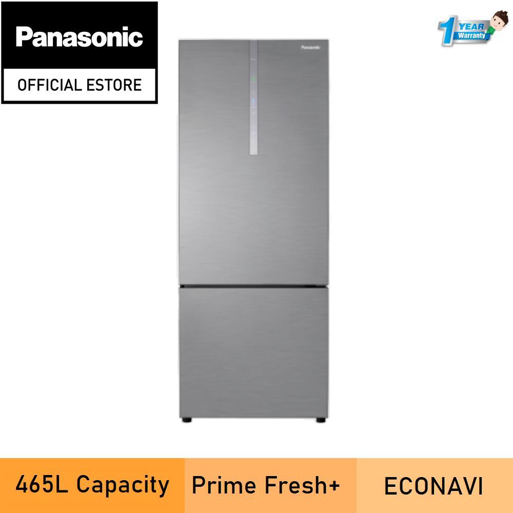 Panasonic NR-BX471CPSM 2-door Bottom Freezer Refrigerator Steel Door Series NR-BX471CPSM