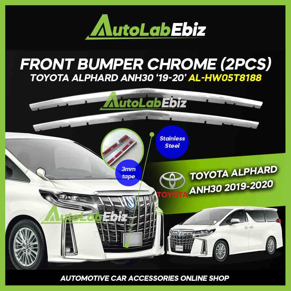 OEM Front Bumper Chrome Toyota Alphard ANH30 2019-2020
