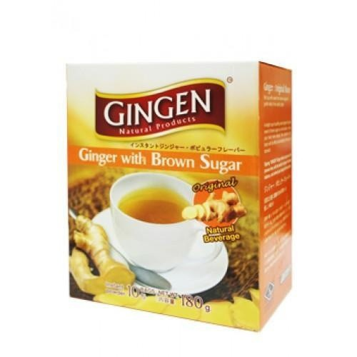 Gingen Ginger With Brown Sugar 18g X 10s