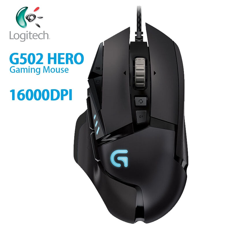 Logitech G502 HERO High Performance Gaming Mouse with 16,000 DPI  Programmable Tunable LIGHTSYNC RGB for Mouse Gamer