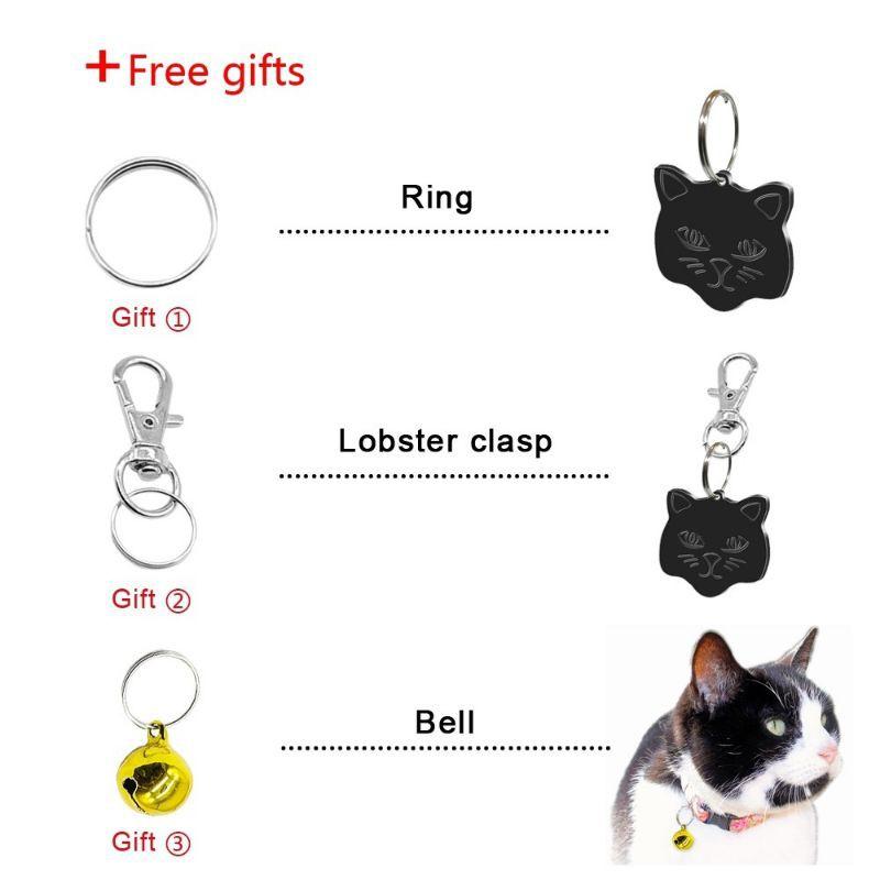 Tag Nama Free Rantai Tag Rantai Nama Kucing Haiwan Shopee Malaysia