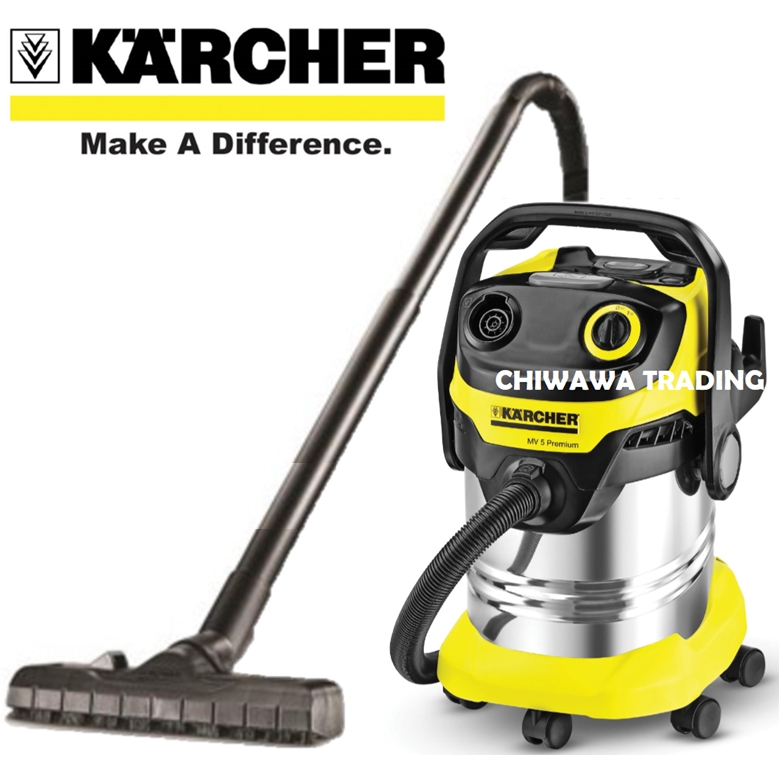 KARCHER WD5 Premium 25L 1100W Wet & Dry Auto Car Vacuum Cleaner Dust Collector Suction Outdoor Penyedut Habuk Mesin