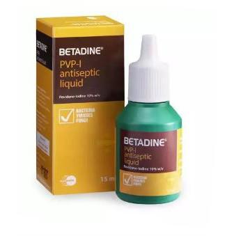 Betadine Antiseptic Liquid (15ml)