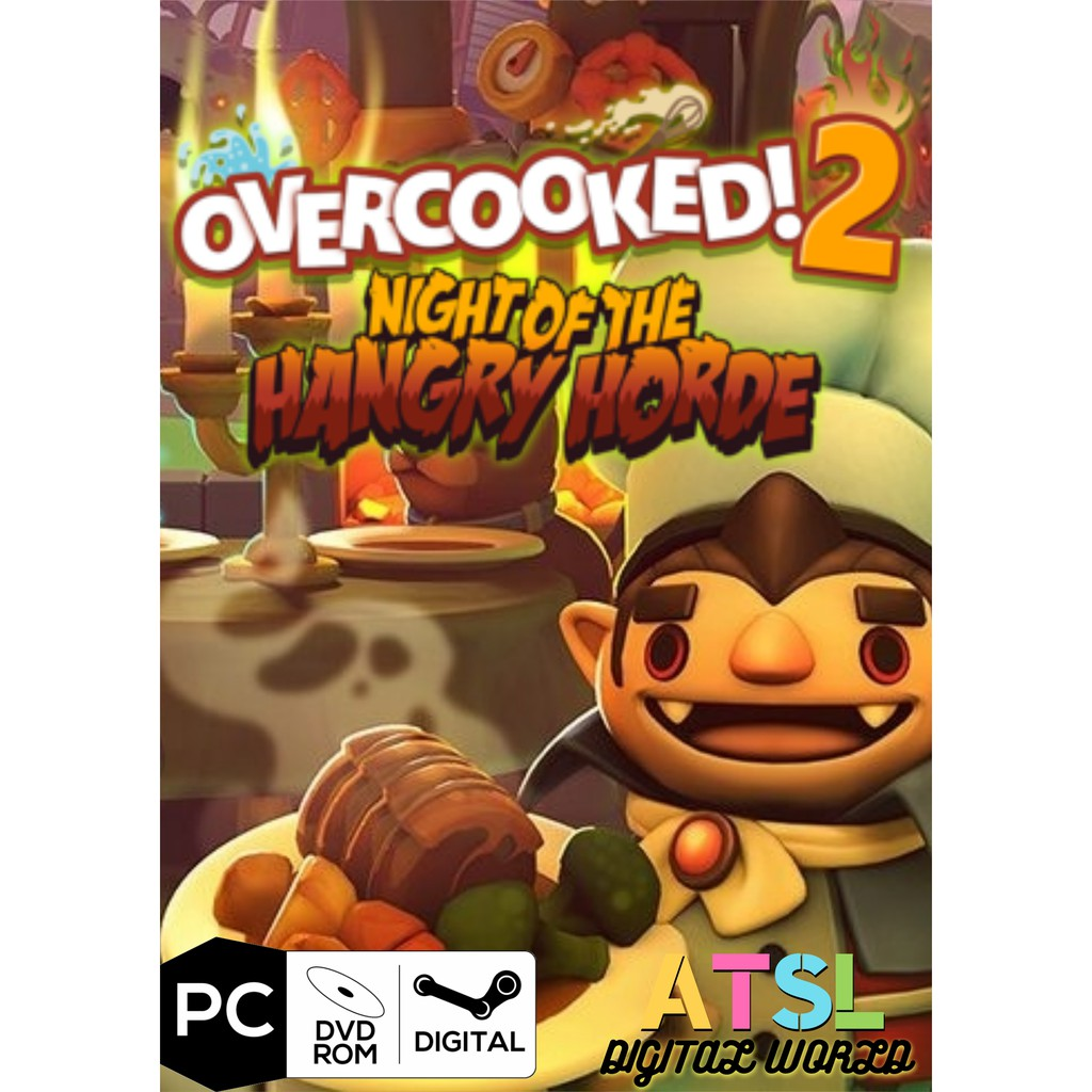 [PC Game] Overcooked! 2 Complete Edition (ALL DLC Incl)