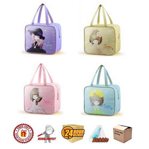 Insulated Thermal Cooler Bag (Design 2) Flower Girl Series
