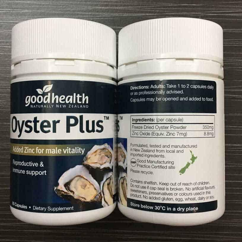 【Ready Stock】Good Health Oyster Plus 好健康牡蛎精华生蚝精胶囊锌片