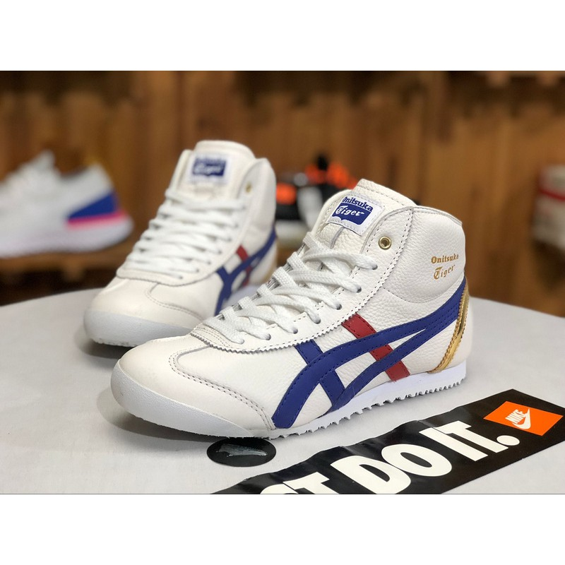 sports shoes 3b731 297aa Onitsuka Tiger Ghost Tiger men's sports shoes MEXICO66 high-top women's  shoes