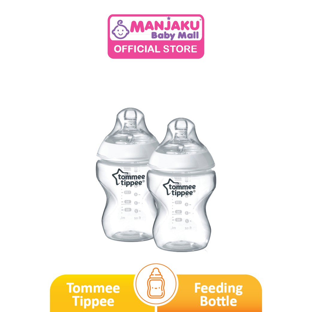 Tommee Tippee Closer To Nature Bottle (260ml/9oz x 2 Packs)