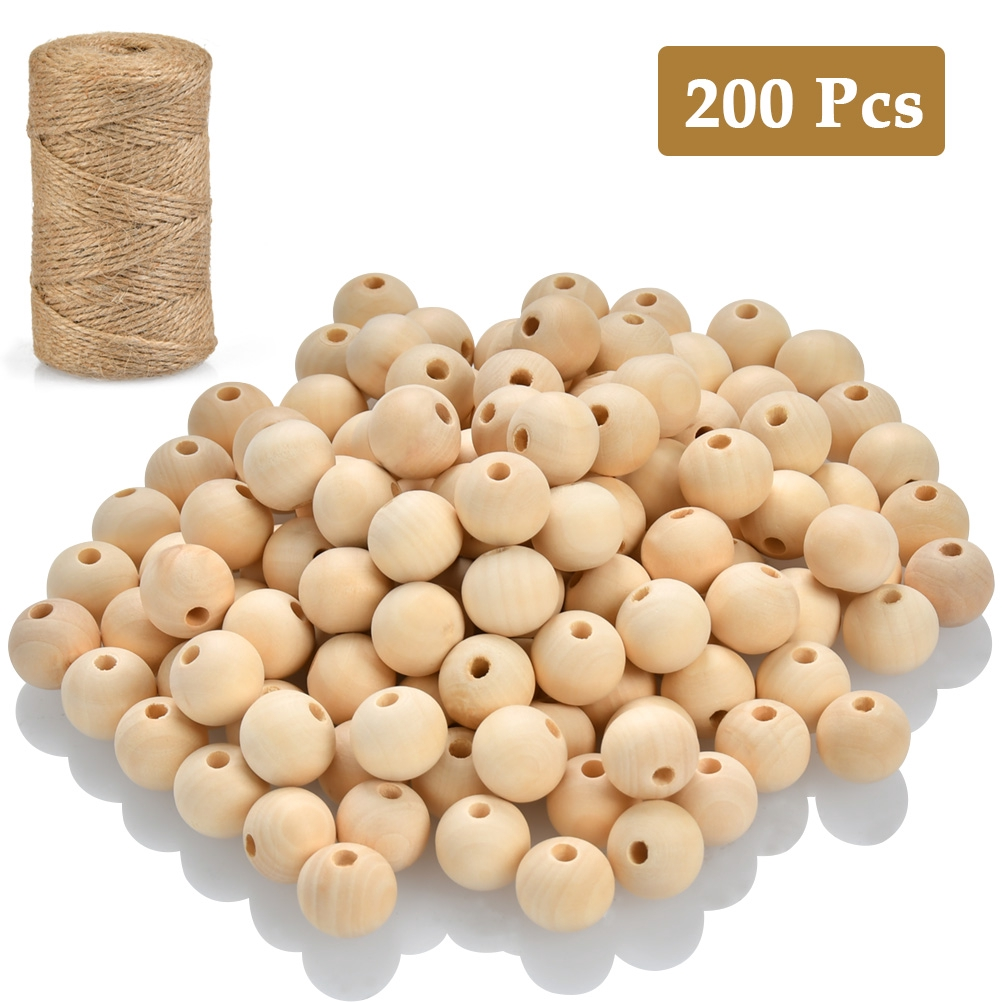 Wholesale 200pcs Round Spacer Loose Beads 6mm//8mm//10mm//12mm//14mm//16mm//18mm//20mm