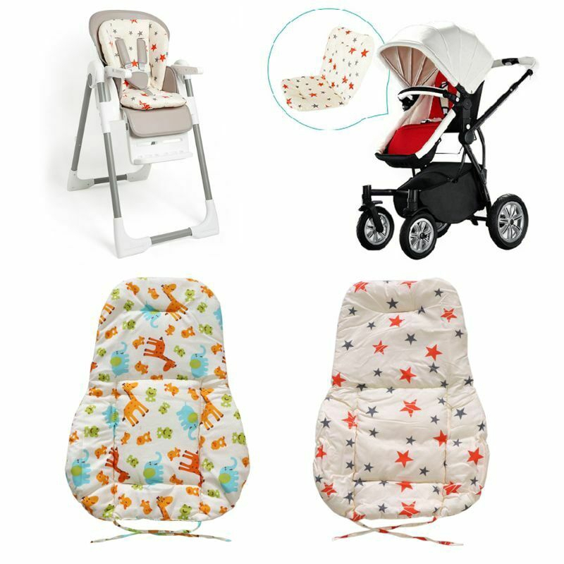 Baby Stroller Seat Padding Pram Liner Pad Cushion Mattress Thick Cover Safe Soft