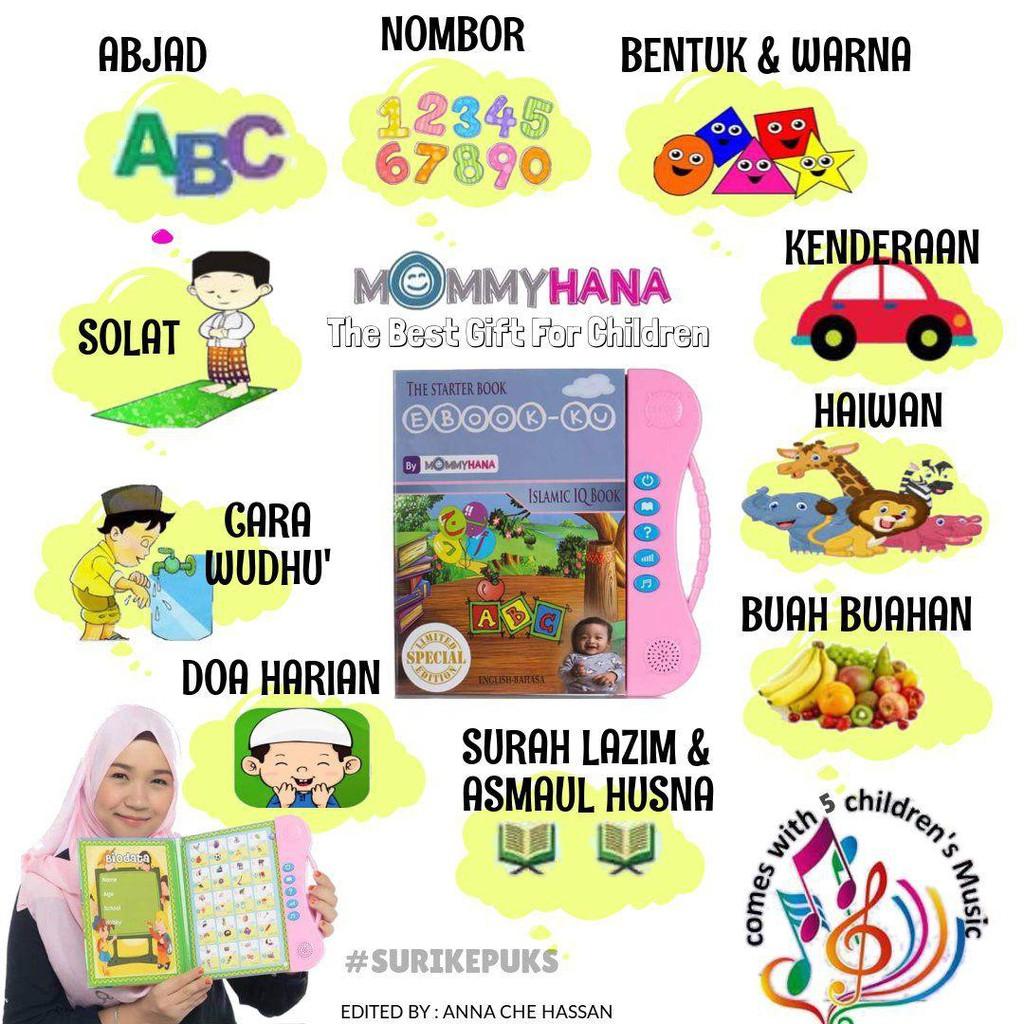 MommyHana Ebook Kids Islamic Learning Buku Belajar Islamik Anak-Anak