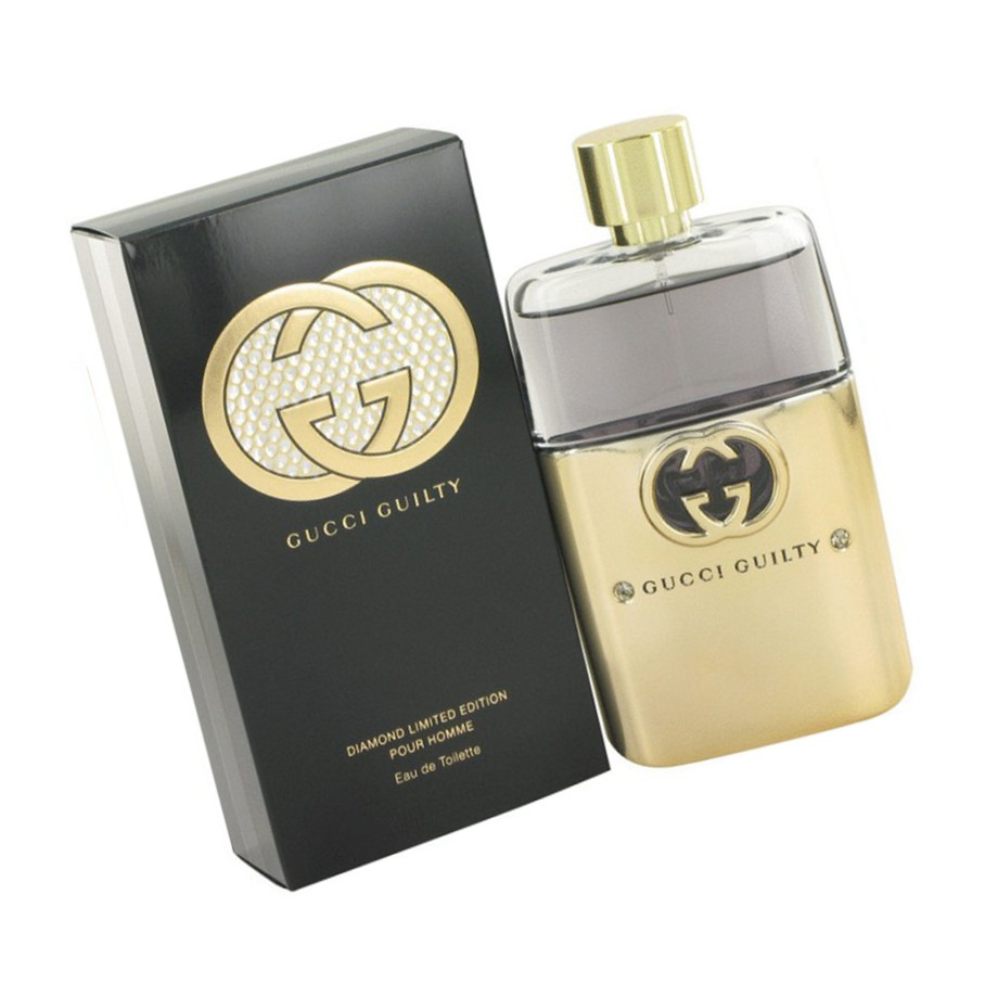 Gucci Guilty Black Pour Homme For Men 75ml Shopee Malaysia