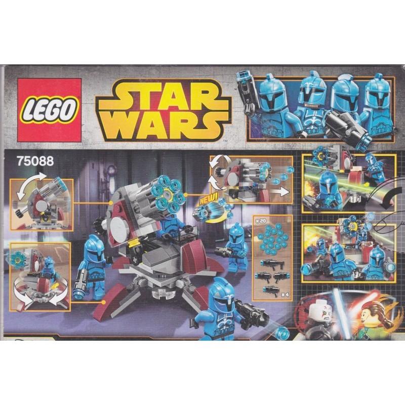 Lego Sealed Set Star Wars Battle Pack 75088 Blue Senate 4 Minifigures Gift Toy