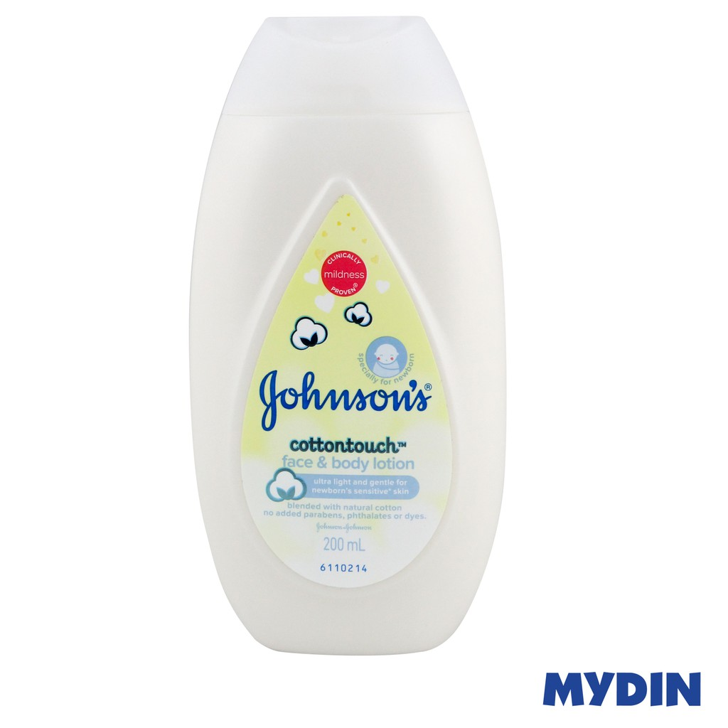 Johnson's Cotton Touch Face & Body Lotion (200ml)