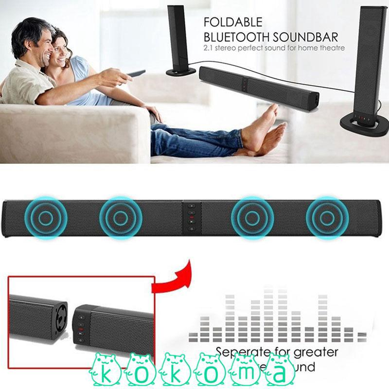 Kok Portable Fm Soundbar Bluetooth Speaker Best Sound Shopee
