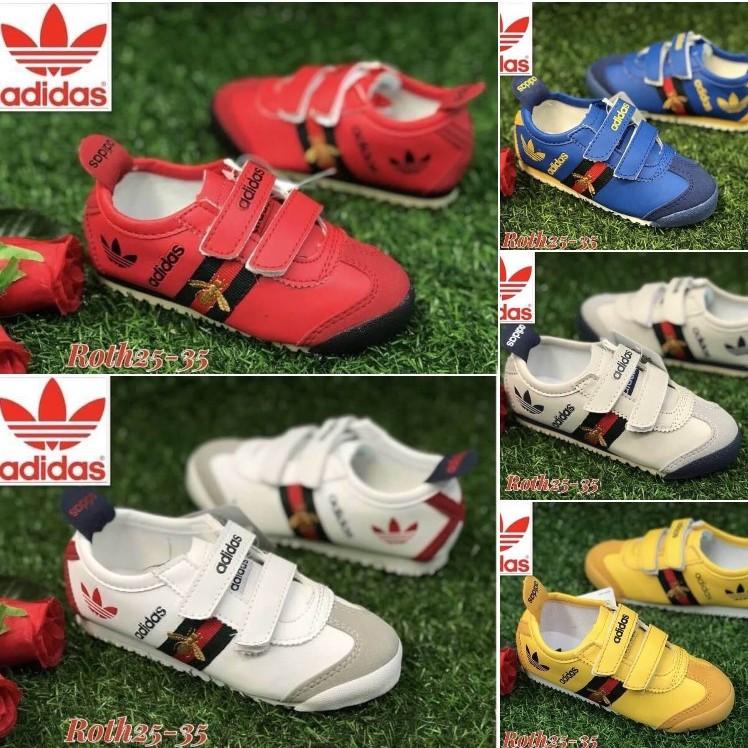 รองเท้าผ้าใบเด็ก ลดราคาค่ะรุ่นนิยมพื้นนิ่มอย่างดี มีหลายแบบหลายสีม