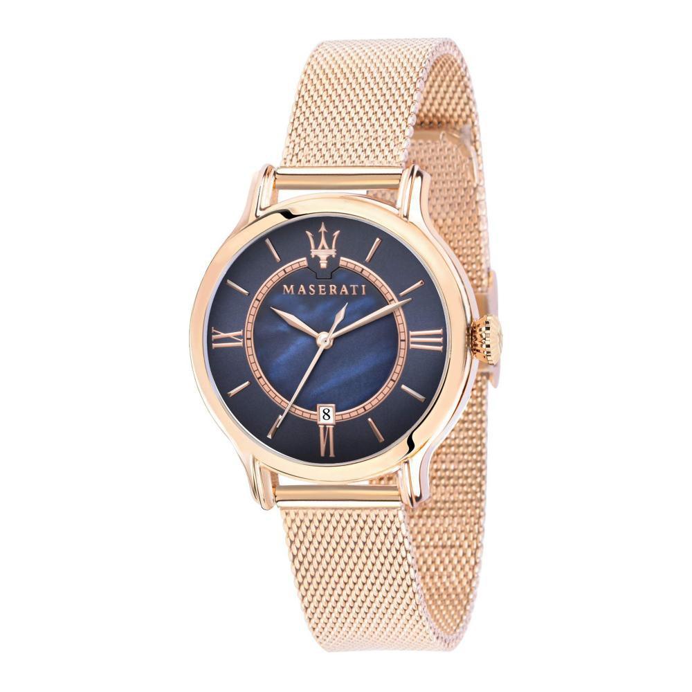 Maserati Epoca Rose Gold Metal Band Quartz Watches R8853118503
