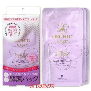 HOLLYWOOD Orchid Enzyme Face Mask (3\'s)