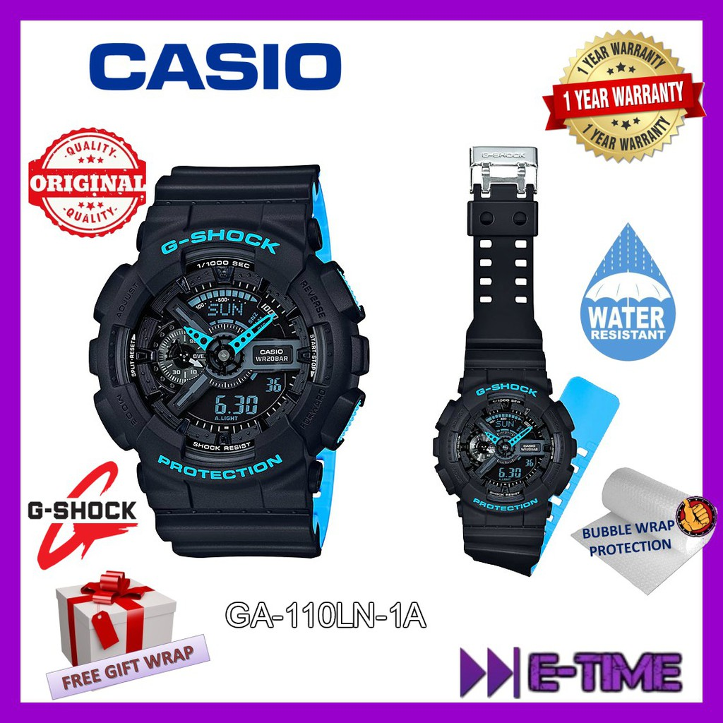 Casio G Shock Original Ga 400gb 1a9 Gold Special Color Super Tough Men Sport Shopee Malaysia