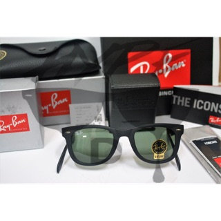 901ebfd7efb4 Ray Ban Wayfarer Folding RB4105 601S 50MM Medium. | Shopee Malaysia