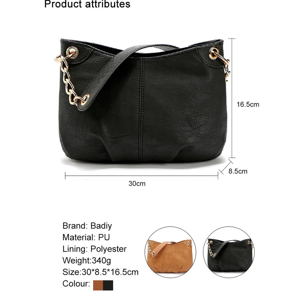 50391fa467f8 PU Leather Women Chain Shoulder Bags Handbag