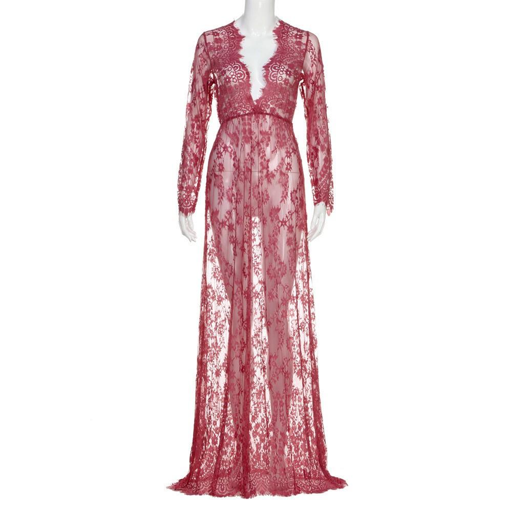 2e90a4e3d45ba [voberry]Maternity Photography Pregnant Women Lace Fashion Dress | Shopee  Malaysia