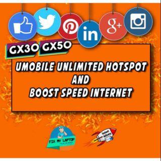 Umobile GX30/GX50 Bypass Hotspot