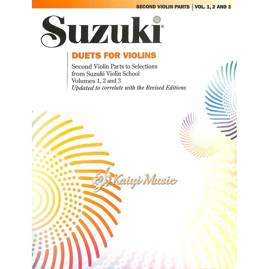♫ Suzuki ♫ Duets For Two Violins ♫ revised edition ♫
